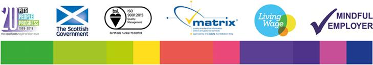 company and charities logo